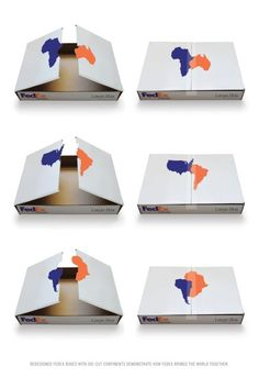 Puzzle Boxes, School Of Visual Arts, Fedex, Print, Outdoor, Ads
