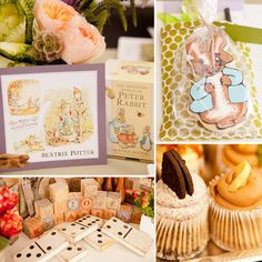 """It's fairly unusual to plan your own baby shower, but for event planner Kristen Janes of Kio Kreations, it meant she got the party of her dreams. """"I have always wanted to have a classic children's book-inspired baby shower, since I have a degree in illustration and have been collecting children's books for years,"""" says Kristen. """"I wanted to start a collection for my soon-to-be-born daughter."""" Tables inspired by Eric Carle, Beatrix Potter, Dr. Seuss, and Little Golden Books introduced the…"""