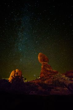 Balanced Rock at Arches National Park in Utah Astrophotographer Bill Whetstone  11/23/15: