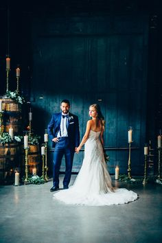 A Modern Twist on a Royal Themed Wedding with photos by Derek Halkett Photography | The Pink Bride®️ www.thepinkbride.com