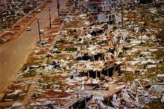 """On Christmas Eve and Christmas morning 1974, the Australian city of Darwin was devastated by Cyclone Tracy.  71 people died and 70% of the city was destroyed.  It was described as """"a disaster of the first magnitude…. without parallel in Australia's history""""."""