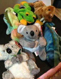 Ty Beanie Babies Lot Koala Iguana Frog Walrus | eBay