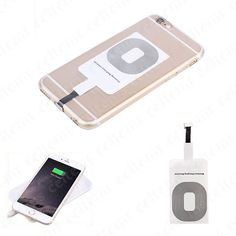 Qi Wireless Charging Receiver Card Charger Module Mat for iPhone 5s 6 6s 7 Plus | Cell Phones & Accessories, Cell Phone Accessories, Chargers & Cradles | eBay!