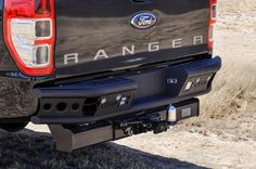 "2011 - Up Ford Ranger T6 Dimple ""R"" rear bumper"