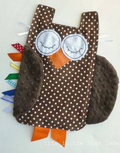 Owl taggie... Need to do this