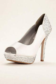 c74ceb7639758 View Rosa Dyeable Platform Pump Rosa Dyeable Wedding Shoes