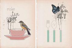 Gorgeous illustrations