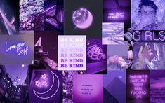 Purple Aesthetic Laptop Background