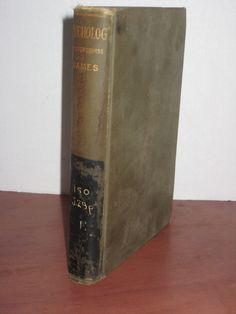 Vintage Antique Psychology Briefer Course By William James 1930  #Textbook