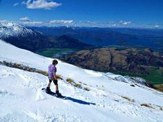 Boarding!!! Treble Cone in Wanaka, New Zealand. See you in August! Snowboard, New Zealand