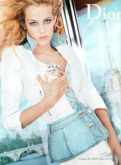 Riley Keough (Elvis Presley's Granddaughter) - Miss Dior Cherie perfume ad.