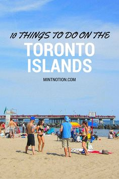 10 things to do on the Toronto Islands (for all ages). If you're visiting Toronto, don't miss a chance to visit the Toronto Islands -- it's just a short ferry ride away! Visit Toronto, Toronto Travel, Toronto Canada, Toronto City, Canada Ontario, Ontario Travel, Toronto Island, Newfoundland And Labrador, Prince Edward Island