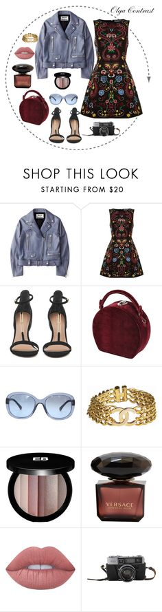 """""""05.06.2017"""" by olgacontrast on Polyvore featuring мода, Acne Studios, Alice + Olivia, Bertoni, Chanel, Edward Bess и Lime Crime"""