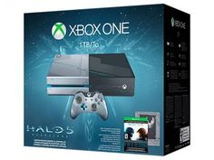 Console Xbox One 1TB com Controle Microsoft - Jogo Halo 5 Guardians Via Download…