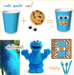 C is for...Cookie Monster Party!