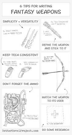 tips-for-writing-fantasy-weapons