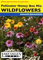 Flower Seed - Wildflowers honey Bee Mix from lakevalleyseed.com