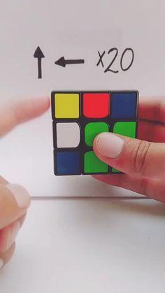 Rubiks Cube Patterns, Solving A Rubix Cube, Rubik's Cube Solve, Everyday Hacks, Diy Crafts Hacks, Useful Life Hacks, Craft Videos, Diy For Kids, Helpful Hints