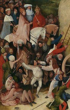 ヒエロニムス・ボス Hieronymus Bosch 乾草車(中央) The Hay Wain (center)