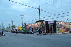 Wynwood Walls w Miami na Florydzie.