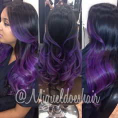 Thinking about Purple Ombre being my next color after black