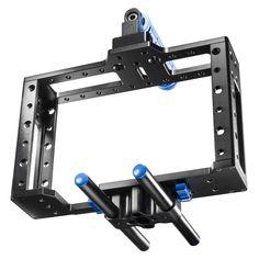 d800 movie assesories | DSLR Cage video cage D800 etc. Camera Rig, Camera Nikon, Nikon D800, Rigs, Movie, Amp, Accessories, Wedges, Film