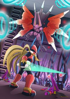 Megaman Zero 3 - Hellbat Schilt by ultimatemaverickx.deviantart.com on @DeviantArt