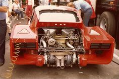 1980, Porsche 935 K3 Biturbo. Beautiful engine and still recognisable the original 911 body (if you have a good look)