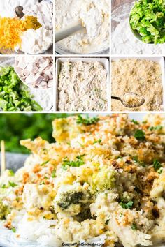 A rich, creamy casserole, Chicken Divan is easy to prepare and store. Packed with broccoli, cheese, and juicy chicken, the dish can feed a small militia! #gonnawantseconds #chickendivan #chicken #chickencasserole #broccoli #dinner #recipe #casserole #chickenrecipes Chicken Divan Casserole, Casserole Dishes, Quick Easy Meals, Easy Dinner Recipes, Delicious Recipes, Holiday Recipes, Easy Recipes, Healthy Chicken Recipes, Shrimp Recipes