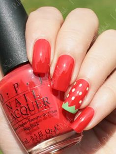 No BBQ this weekend? Rock your favorite picnic staple on your digits instead. Get the tutorial from I Love Nail Polish »