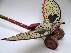 Flapping bird push toy Diaporama