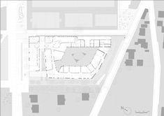 Bezons Angela Davis School,Plan