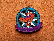 Lagoona Gator Disney Pin - 2012 Hidden Mickey Series - Star - Compass Collection