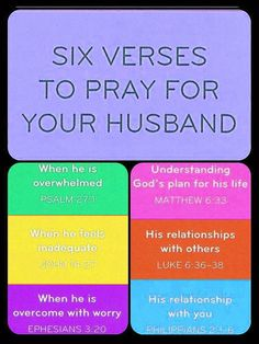 ~HUSBAND~ So what if I don't have a husband yet! I'll pray these prayers for my future hubby! He'll appreciate it. I know it!