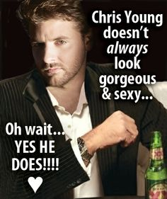 bored at work the other day... look at Chris Young pictures instead?  yes, please.
