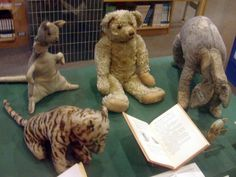 The original toys Winnie-the-Pooh is based on