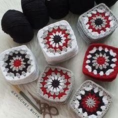 Crochet Ripple Blanket, Granny Square Crochet Pattern, Crochet Diagram, Crochet Squares, Crochet Cardigan, Crochet Granny, Crochet Motif, Crochet Baby, Knit Crochet