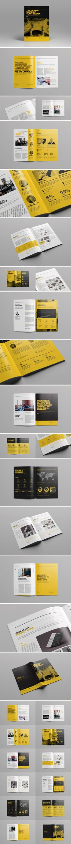 Boris Vargas is a Graphic Designer currently based in Buenos Aires, Argentina. Template Brochure, Design Brochure, Brochure Layout, Graphic Design Print, Graphic Design Branding, Corporate Design, Corporate Strategy, Editorial Design, Editorial Layout