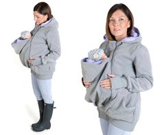 LUNA 3 en 1 llevar a tu bebé chaqueta maternidad embarazo