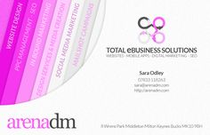 High praise indeed arena dm website design in milton keynes business card design services colourmoves