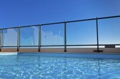 If you want the security of a pool fence, but hate the obstructed view, a glass pool fence is for you.