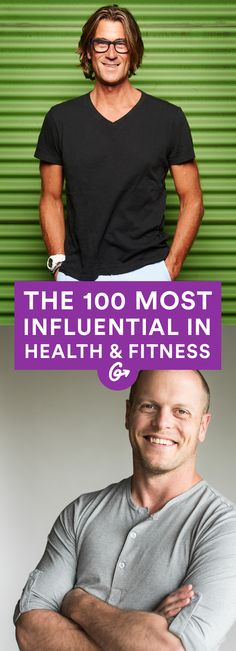 Here's who really made a  difference in 2015. Did your favorite make the cut? #health #fitness #people #experts http://greatist.com/health/most-influential-health-fitness-people