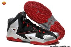 sports shoes 168bb 8226d Buy For Sale Nike Zoom Lebron James 11 Shoes Authentic Black Silver Red  from Reliable For Sale Nike Zoom Lebron James 11 Shoes Authentic Black  Silver Red ...
