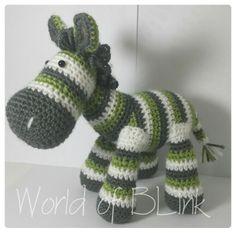 Custom made zebra