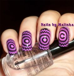 Gorgeous Colored Radiating World Stamping Nails : http://nailsbymalinka.blogspot.nl/2014/11/born-pretty-plate-11.html
