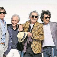 Los Rolling Stones llegan a Lima para su primer show en Perú
