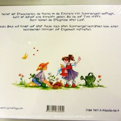 """""""Hanna und die Schutzengel"""" (Hanna and the Guardian Angels) - Angel book for kids, illustrated by Conny Wolf; available in GERMAN language  www.ekonja-verlag.com"""