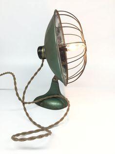 Antique Chrome Lamp Challenge Heat Lamp by ModernArtifactDecor