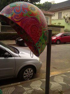 Arte de rua na Vila Madalena