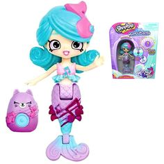 Shopkins Happy Places Harmony Mermaid Color Changing Tail S6 Lego Girls, Toys For Girls, Kids Toys, Crochet Baby Halloween, Shopkins Happy Places, Lps, Tails Doll, Mermaid Toys, Mermaid Bedroom